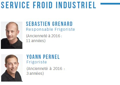 Service froid industriel